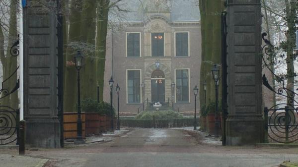 Beneath the mansion